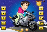 Гарри Поттер: Поездка на мотоцикле с переодеванием