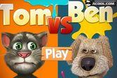 Противостояние говорящего кота Тома и пса Бена