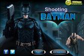 Перестрелка супер героя Бэтмена со злодеями