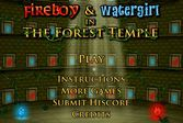 Опасные приключения Огонь и Вода в лесном храме