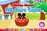 Микки Маус готовит пирог с ушами