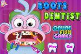 Обезьянка нуждается в стоматологе, который вылечит зубы