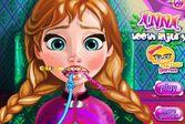 Лечим зубы милой принцессы Анны у врача