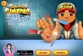 Сабвей Серферс: доктор лечит руку Джейка