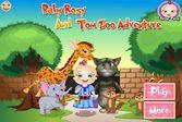 Рози идёт в зоопарк с говорящим котом Томом