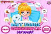 Даже красивая Барби умудрилась заболеть ветрянкой
