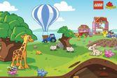 Кролик и жираф в сказочном мире лего дупло