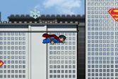 Освобождение города Лего Суперменом от напедения роботов