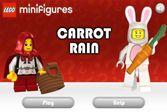 Мальчик кролик создал настоящий дождь из красной моркови
