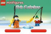 Лего рыбалка с настоящим морским волком