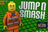 Лего робот разрушает все что попадет ему под ноги
