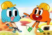 Друзья Гамбол с Дарвином собираются отправиться на поиски сладостей