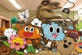 Любимые герои увлекательного мультфильма о приключения Гамбола