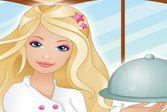 Помогите Барби в первый день работы обслужить клиентов