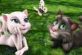 Отправляйтесь вместе с котом Томом и кошкой Анжелой в парк