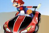 Испытай свои силы и покажи на что способны братья Марио в безумных гонках