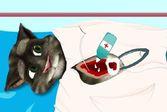 Операции на животных - вылечите говорящего кота Тома