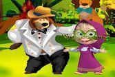 Маша и Медведь: карнавальная одевалка
