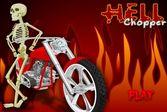 Садитесь в кресло адского мотоцикла и пронеситесь на огромной скорости
