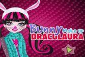 Дракулаура решили отметить праздник в костюме кролика