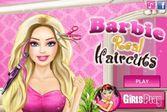Помогите Барби создать свой новый образ и прическу