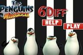 Найти вместе с пингвинами за определенное время шесть отличий