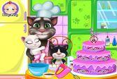 Создайте потрясающе вкусный торт вместе с котом Томом