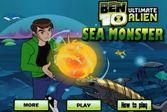 Бен 10 и подводные монстры – убейте всех рыб
