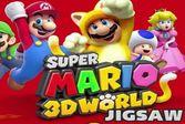 Марио и трехмерный пазл