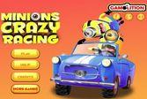 Безумные скоростные гонки весельчаков миньонов на мощных автомобилях