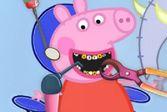 Ассистируйте врачу стоматологу чтобы вылечить зубки Пепы