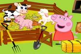 Справляйтесь по ферме вместе с Пепой и Джорджем