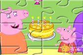Соберите десять фотографии семьи свинки Пепы