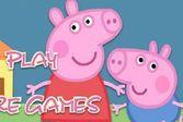 Вместе с самыми маленькими из семейства Свинов расставьте мебель