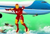Железный человек спасает самолёт