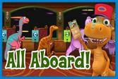 Кондуктор из поезда динозавров