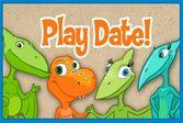 Поезд динозавров на время