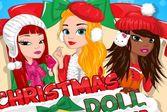 Рождественский наряд для девушки