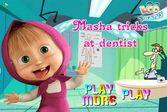 Маша и Медведь у стоматолога