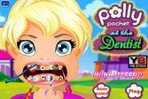 Девочка Полли сильно страдает от зубной боли.