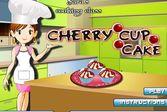 Кухня Сары вишнёвые кексы