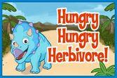 Поезд динозавров – еда для Трицератопса