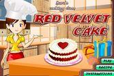 Кухня Сары торт красный бархат