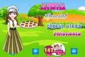 Анна готовит итальянскую пиццу