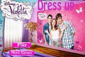 Одевалка для принцессы Виолетты