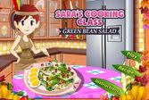 Кухня Сары салат из зелёной фасоли
