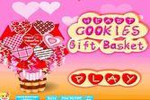 Вкусное печенье в виде сердца на день влюбленных