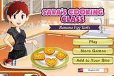 Кухня Сары яичные тарталетки с банановой начинкой