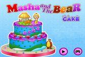 Маша и Медведь рецепт приготовления праздничного торта