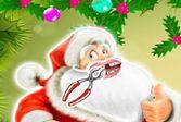 Помогите Санта Клаусу вылечить зубы